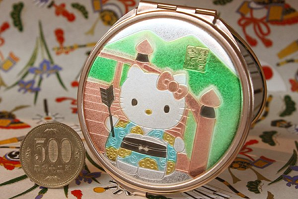 画像1: Hello Kitty Compact mirror  -The bridge- (1)